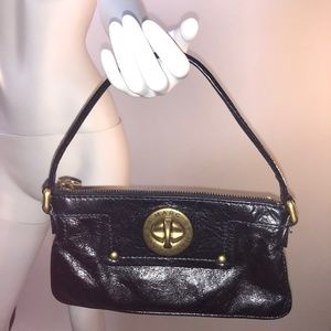 Marc Jacobs Mini Black Leather Bag with Handle